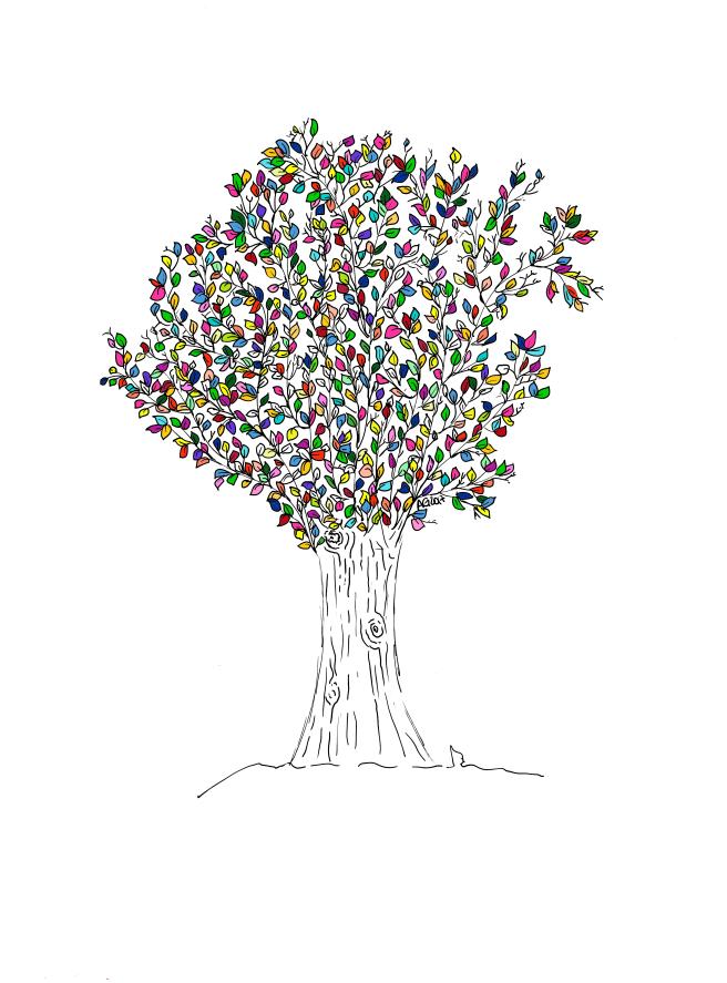 albero - Colori